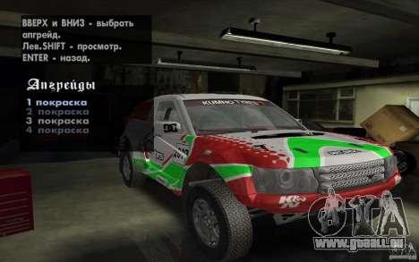 Bowler Nemesis für GTA San Andreas Seitenansicht