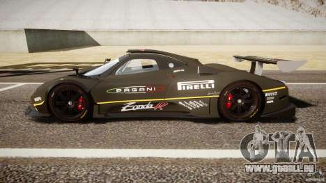 Pagani Zonda R 2009 für GTA 4 linke Ansicht