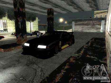 Baron de vinyle de Most Wanted pour GTA San Andreas laissé vue