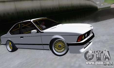 BMW M635CSi Stanced für GTA San Andreas linke Ansicht