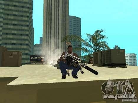 Weapons Pack pour GTA San Andreas cinquième écran