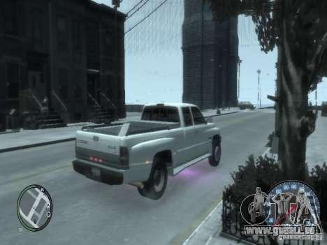 Dodge Ram 3500 pour GTA 4 Vue arrière de la gauche