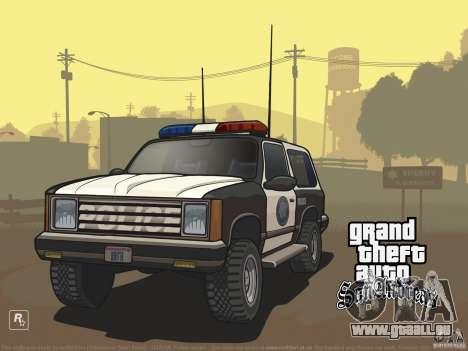 Écran de belle botte pour GTA San Andreas troisième écran
