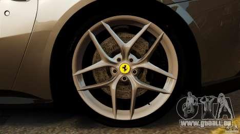 Ferrari F12 Berlinetta 2013 Stock pour GTA 4 vue de dessus