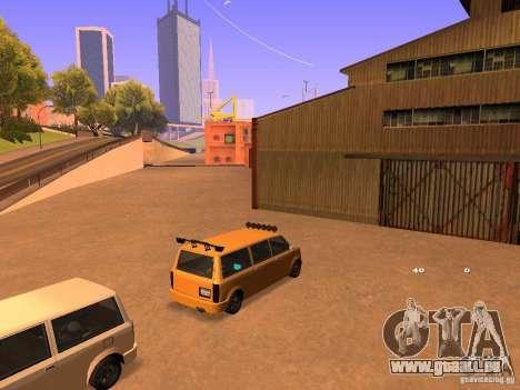 Moonbeam NN für GTA San Andreas Seitenansicht