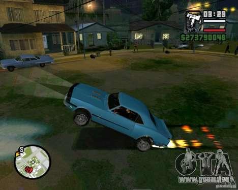 Être capable de soulever la voiture pour votre a pour GTA San Andreas deuxième écran