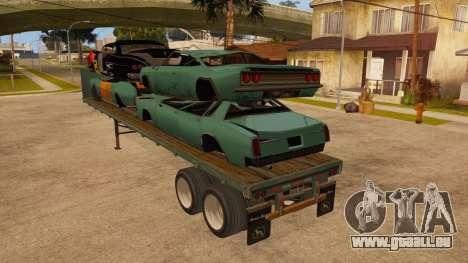 Chalut pour GTA San Andreas sur la vue arrière gauche