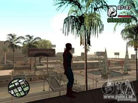 Spider Man From Movie für GTA San Andreas sechsten Screenshot