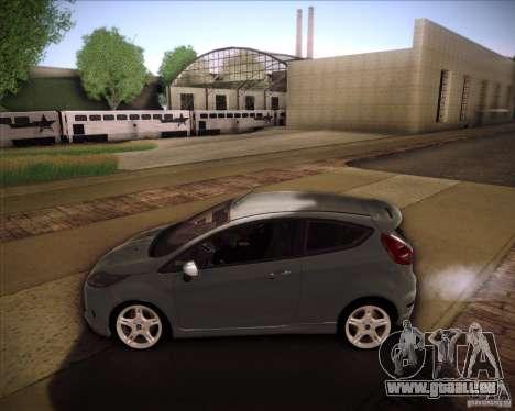 Ford Fiesta Zetec S 2010 pour GTA San Andreas laissé vue