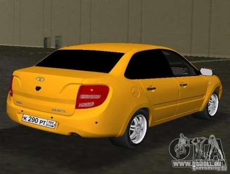 Lada Granta v2.0 für GTA Vice City rechten Ansicht