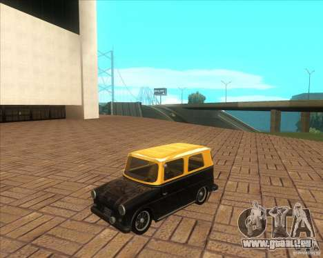 VW Typ 147 - Fridolin pour GTA San Andreas