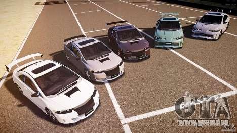Honda Civic Si Tuning für GTA 4 obere Ansicht