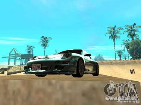 Porsche 997 GT3 RS für GTA San Andreas Seitenansicht