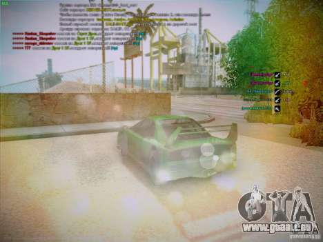Lensflare v1.2 Final for SAMP Fixed Version pour GTA San Andreas troisième écran