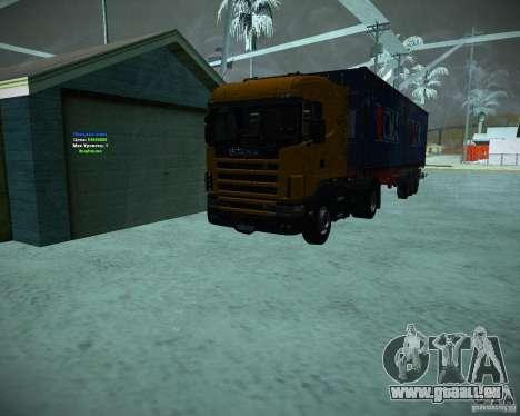 Scania 164L für GTA San Andreas