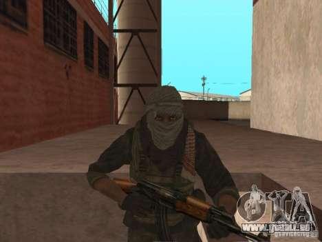 Dušman 2 de COD4MW pour GTA San Andreas sixième écran