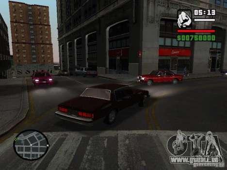 Chevrolet Caprice Classic 87 pour GTA San Andreas laissé vue