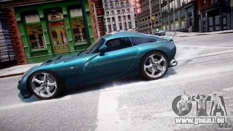 TVR Sagaris für GTA 4 linke Ansicht