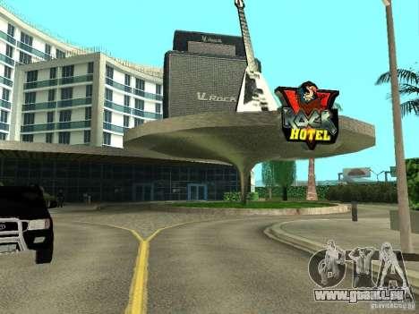 Nouvelles textures pour le V-Rock pour GTA San Andreas troisième écran