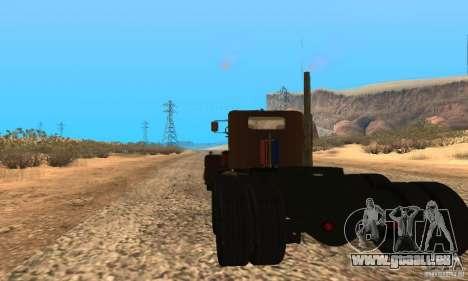 Duel Peterbilt für GTA San Andreas linke Ansicht