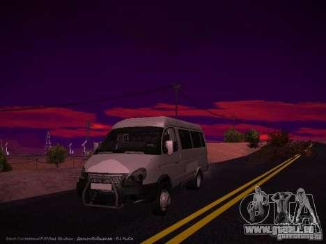 Gazelle 32213 Business v1.0 pour GTA San Andreas