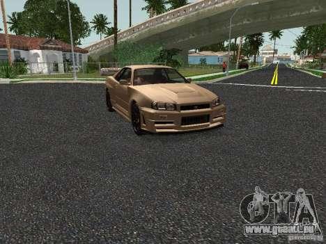 Nissan Skyline Z-Tune pour GTA San Andreas laissé vue