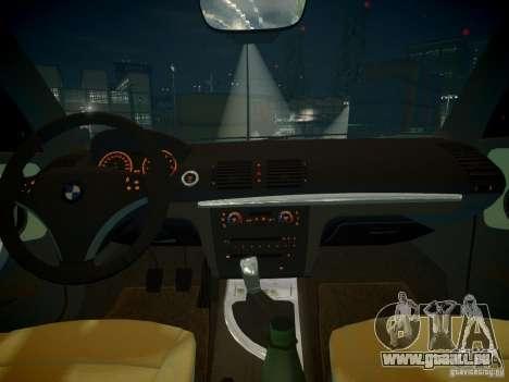 BMW 120i pour GTA 4 est un côté
