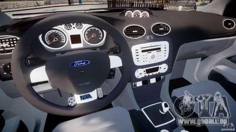 Ford Focus RS pour GTA 4 Vue arrière
