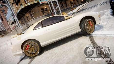 Mitsubishi Eclipse GTS Coupe für GTA 4 linke Ansicht