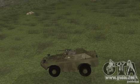 BRDM-1 Haut 3 für GTA San Andreas zurück linke Ansicht