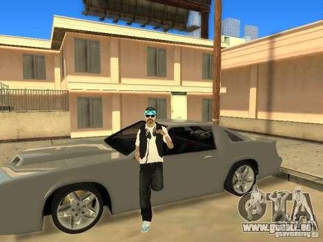Skinpack Rifa Gang pour GTA San Andreas quatrième écran