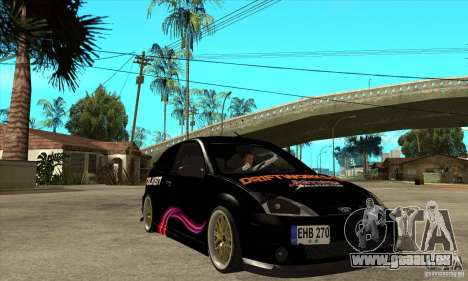 Ford Focus SVT für GTA San Andreas Rückansicht