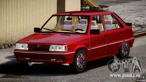 Renault Flash Turbo 11 pour GTA 4 Vue arrière