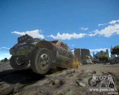 Mitsubishi Pajero Proto Dakar EK86 pour GTA 4 roues