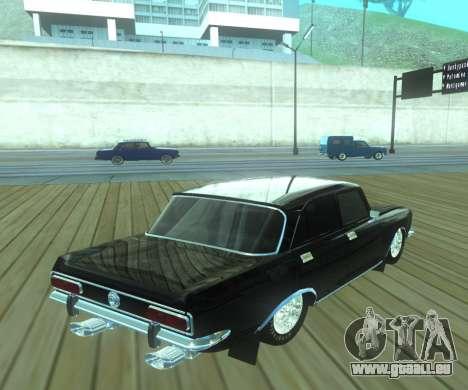 Moskvich 2140 Dragster für GTA San Andreas linke Ansicht