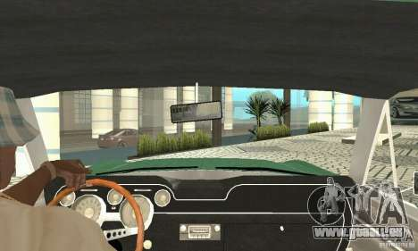 Ford Mustang Fastback 1967 pour GTA San Andreas vue arrière