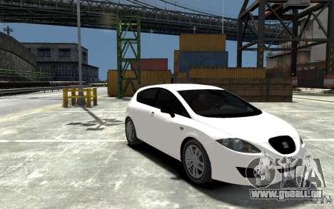 Seat Leon Cupra Light Tuning für GTA 4 Rückansicht