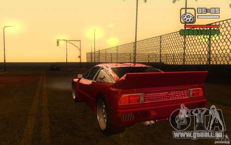 Lancia 037 Stradale für GTA San Andreas linke Ansicht