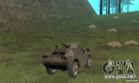 BRDM-2 Winterversion für GTA San Andreas linke Ansicht