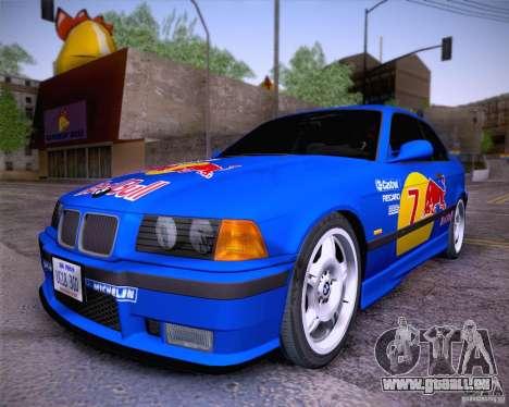 BMW M3 E36 1995 pour GTA San Andreas vue de droite