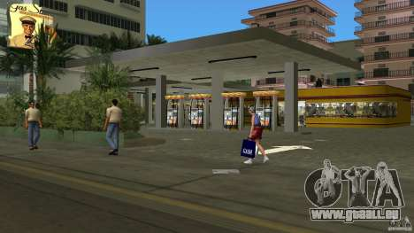 Shell Station pour GTA Vice City