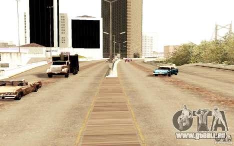 Un nouvel algorithme pour la circulation automob pour GTA San Andreas quatrième écran