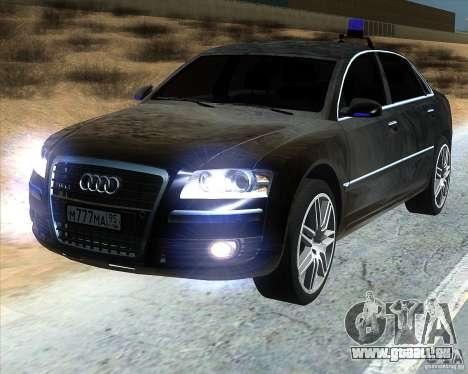 Audi A8L W12 für GTA San Andreas