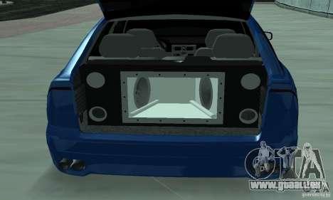 Lada Priora 2012 pour GTA San Andreas vue de côté