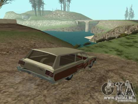 Chrysler Town and Country 1967 für GTA San Andreas Seitenansicht