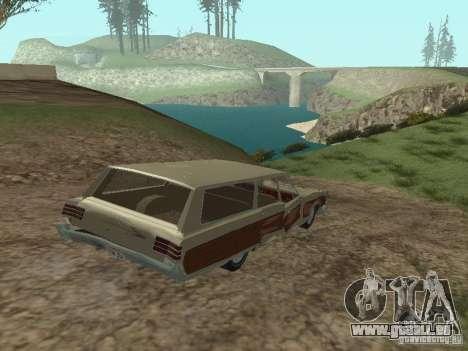 Chrysler Town and Country 1967 für GTA San Andreas Seitenansicht