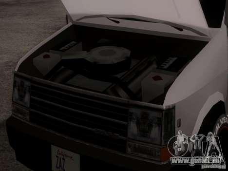 Plymouth Grand Voyager 1970 für GTA San Andreas Rückansicht