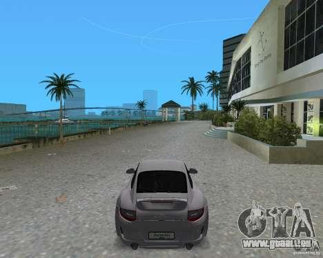 Porsche 911 Sport für GTA Vice City zurück linke Ansicht