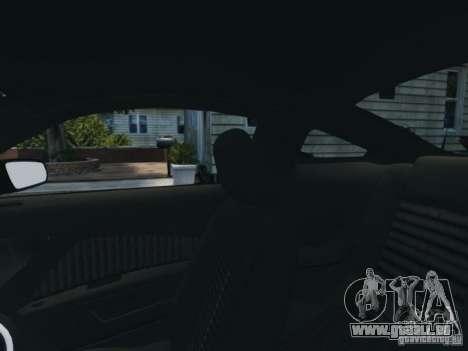 Ford Mustang GT 2011 pour GTA 4 vue de dessus