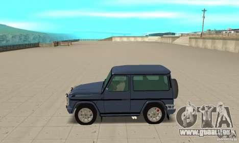 Mercedes-Benz G500 1999 Short [with kangoo v1] pour GTA San Andreas laissé vue